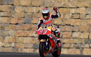 Juara Dunia Moto GP 2016 Marc Marquez