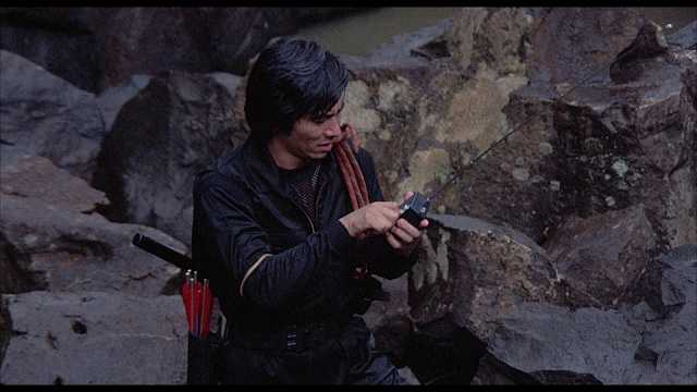 Sho Kosugi Rage of Honor Blu-ray screen cap