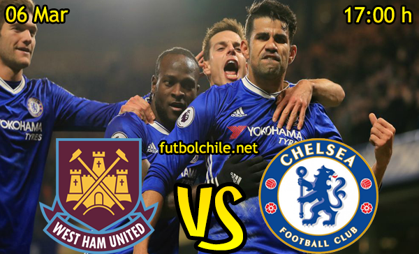 Ver stream hd youtube facebook movil android ios iphone table ipad windows mac linux resultado en vivo, online: West Ham United vs Chelsea