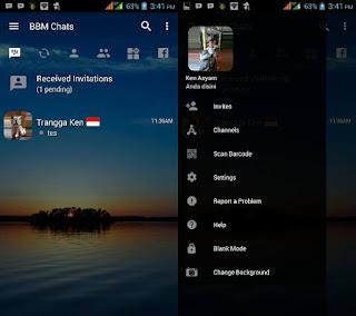 BBM Mod Transparan Clone Apk v3.2.3.11 Full version