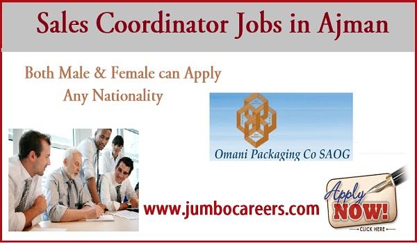 Recent Ajman jobs for both genders, available job vacancies in UAE,