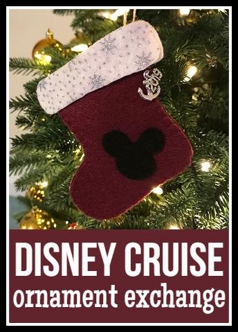 Jennifer S Little World Blog Parenting Craft And Travel Disney Cruise Ornament Exchange Idea Felt Christmas Stockings