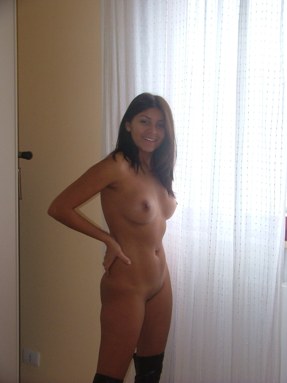 Young amateurs naked
