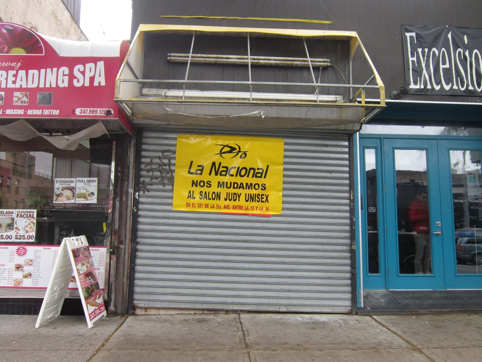 Money Transfer Service La Nacional At 561 Fifth Which Was Recently Damaged By Fire Is Moving Temporarily Down Into Judy Uni 13th 14th