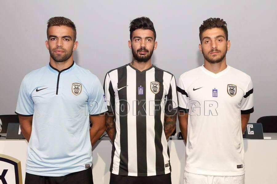 a0dfe1fed PAOK FC Third Soccer Nike Fußball Original Jersey Football Shirt 14 ...