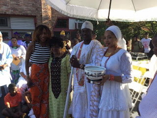 Ooni of Ife, Oba Adeyeye Ogunwusi at 41st Odunde Festival in Philadelphia, USA