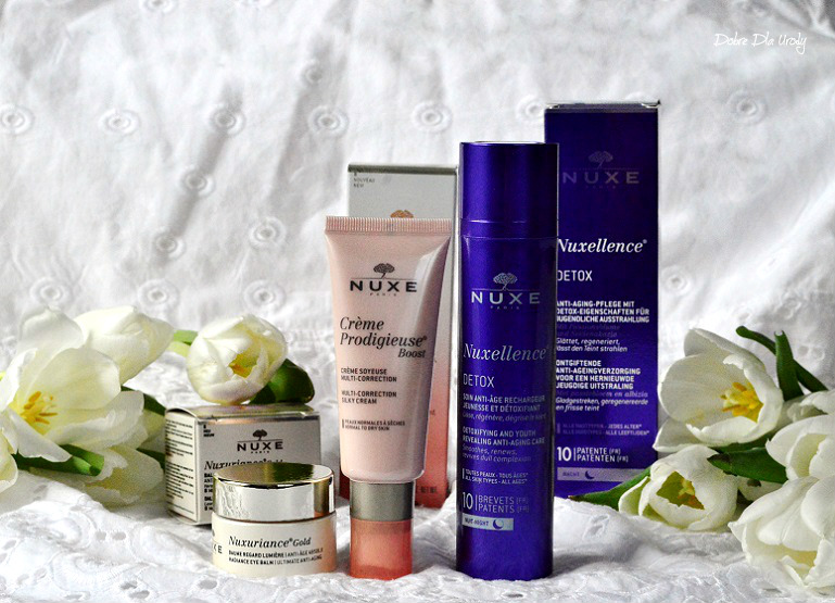 Kosmetyki Nuxe - pielęgnacja twarzy, recenzja