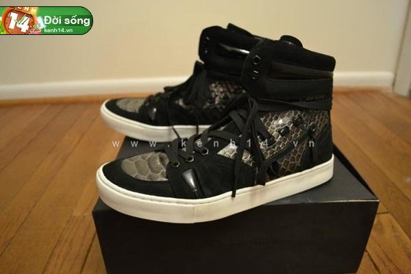 Bộ sưu tập giày sneaker tột đỉnh của anh chàng việt tại mỹ bạn nữ nào cũng m20ê