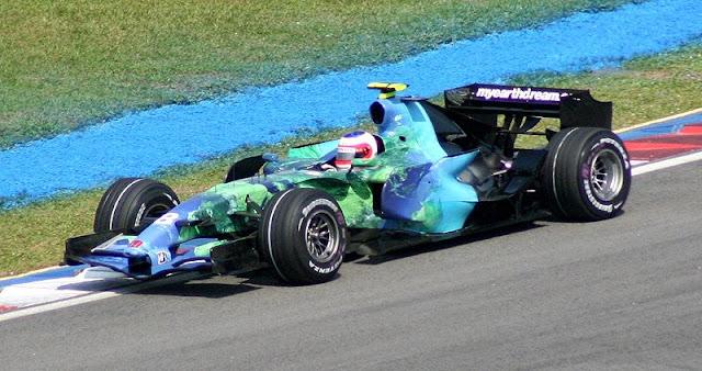 Gambar Mobil Balap F1 Honda 01