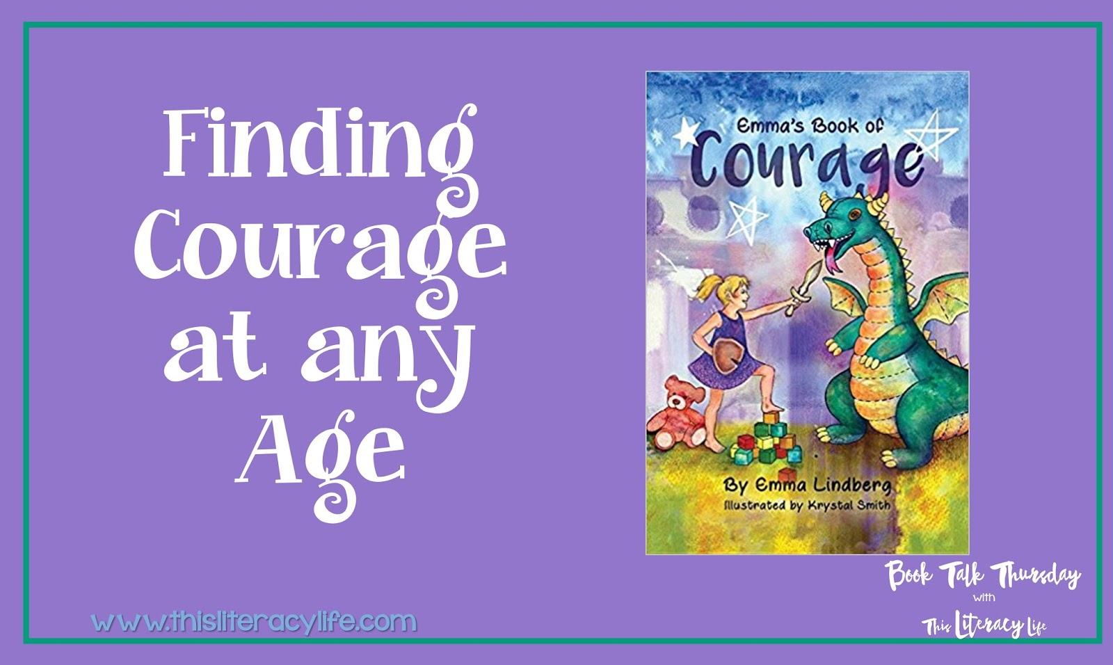 Having courage is more than just doing things when you are scared. Young Emma tells us all about how we need courage in many different situations in her own book.