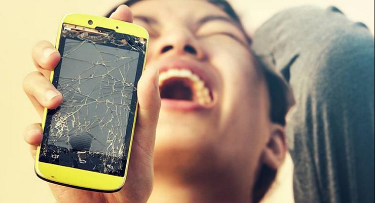 Bagian Smartphone Mudah Rusak