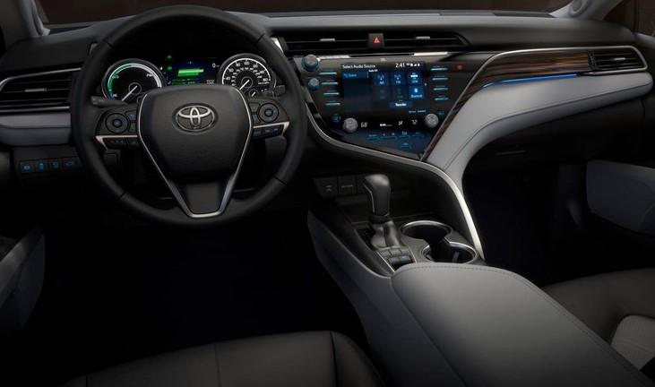 2019 Toyota Camry XLE Hybrid Test