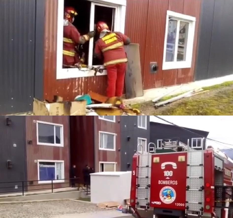 Incendio en un departamento del Pipo