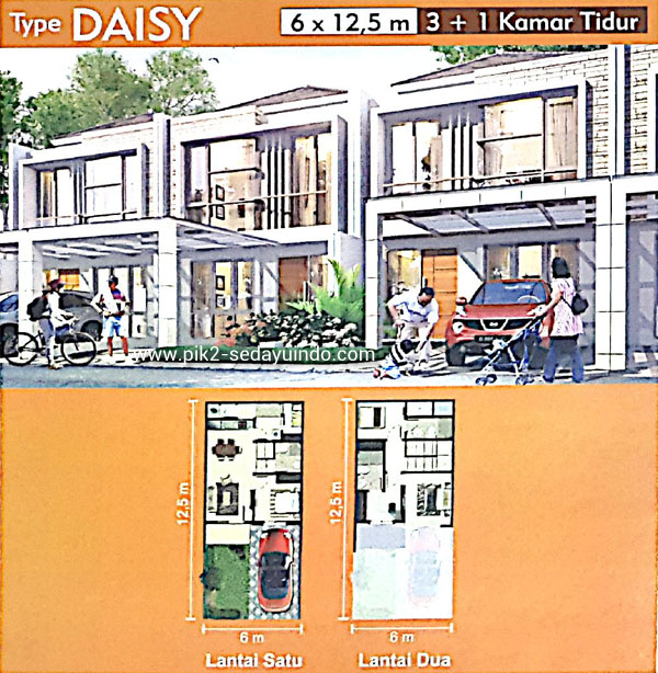 Rumah PIK 2 Dijual Tipe Daisy Cluster Virginia