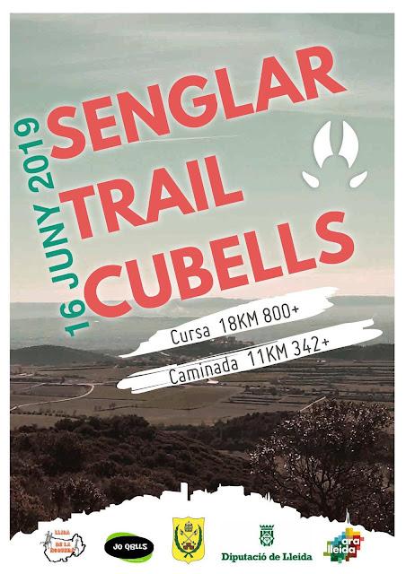 Cartell SenglarTrail de Cubells