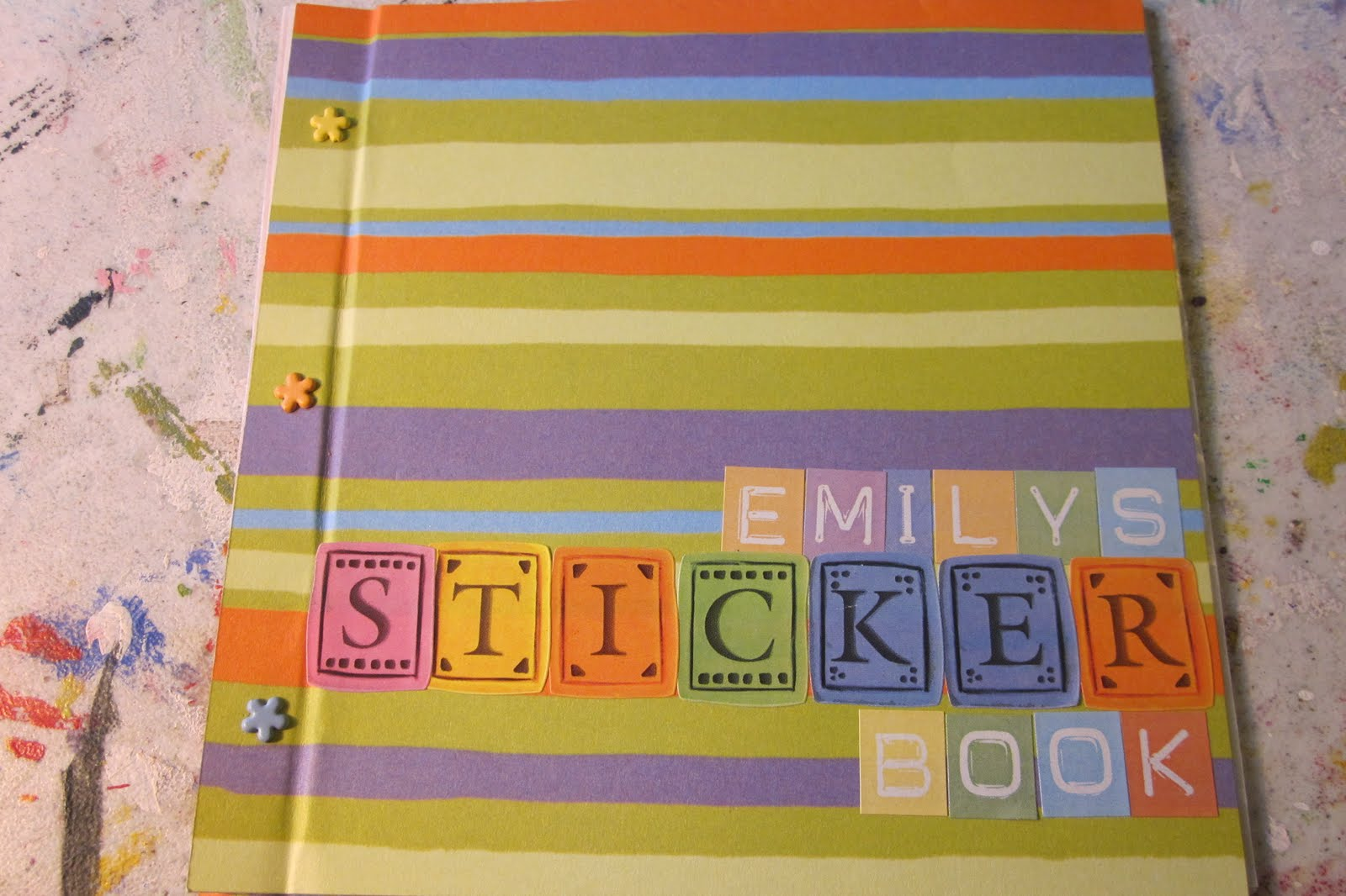 How To Make A Sticker Book