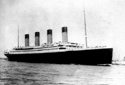 Original Titanic Just After Her Delivery - Replica Being Built in China