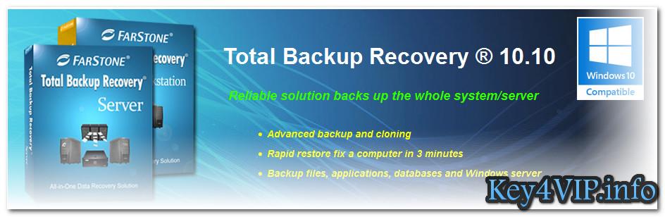FarStone Total Backup Recovery Server 10.10 Full Key - Phục hồi và sao lưu tự động máy chủ