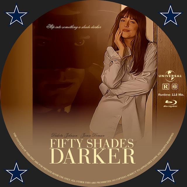 Fifty Shades Darker Bluray Label