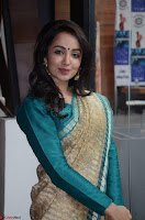 Tejaswi Madivada looks super cute in Saree at V care fund raising event COLORS ~  Exclusive 036.JPG