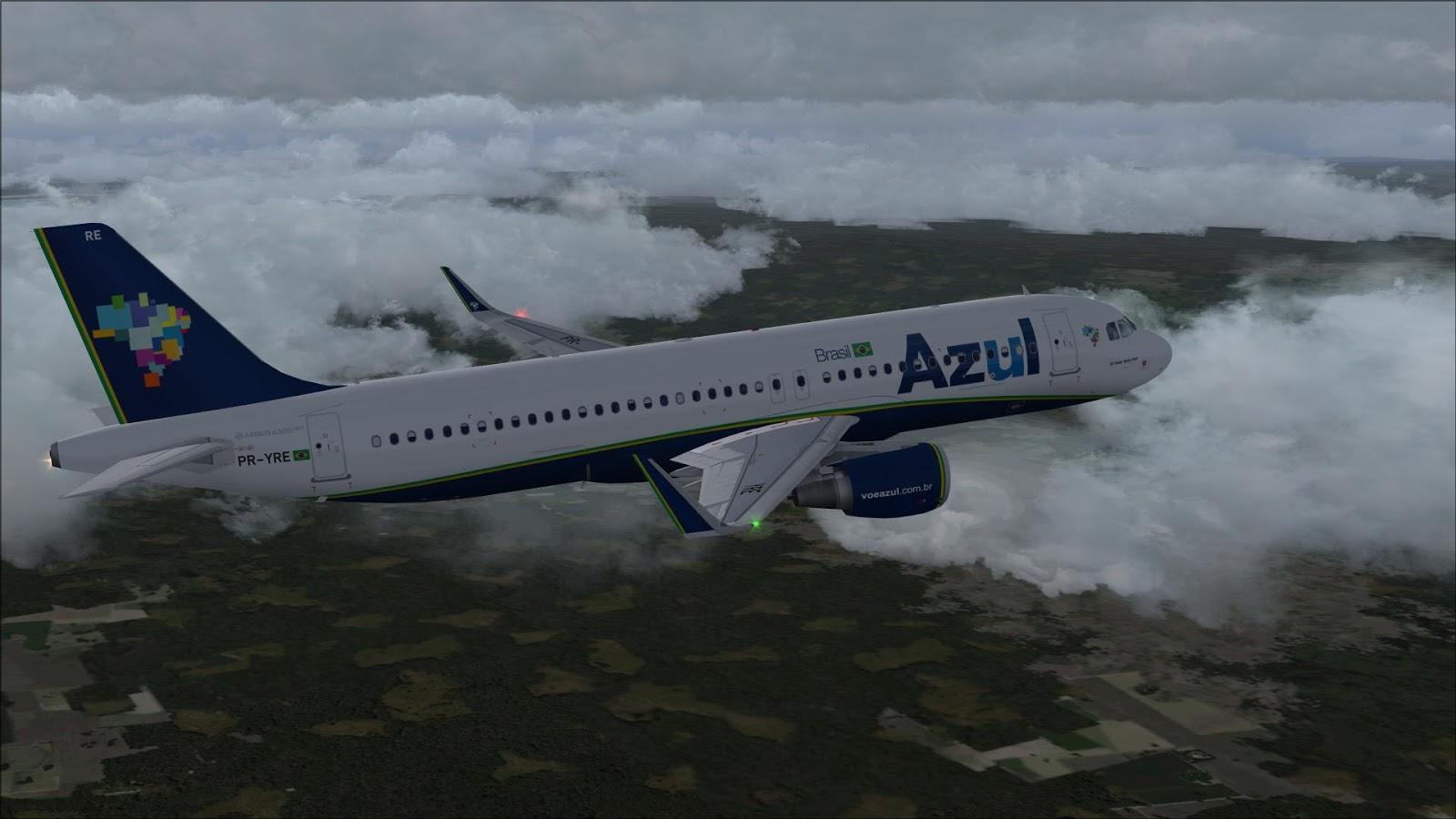 FSRepainter: PROJECT AIRBUS A320-200N AZUL Linhas Aereas Brasileiras