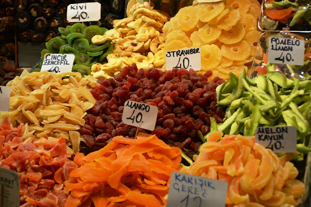 Egyptian Market Istanbul Dried Fruit
