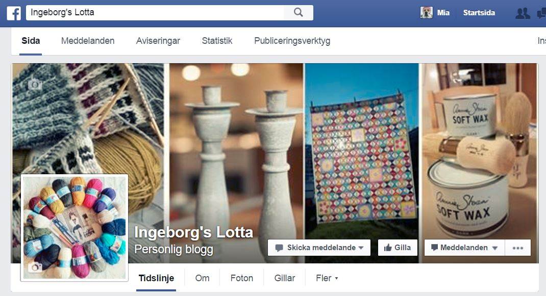 Follow Ingeborgs Lotta on Facebook