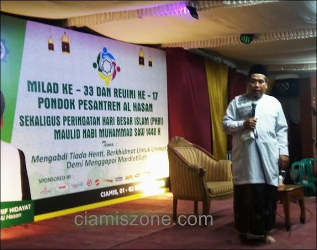 Milad ke 33 Al Hasan Diwarnai Tausiyah 3 Mubaligh
