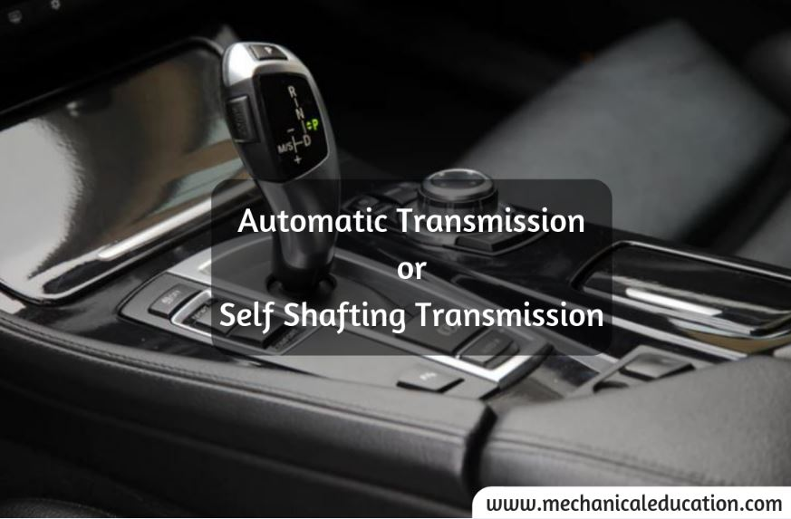 Self-Shafting-Transmission