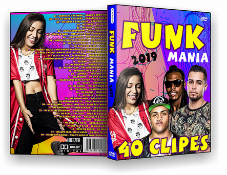 CAPA DVD – Funk Mania 2019 – DVD-R
