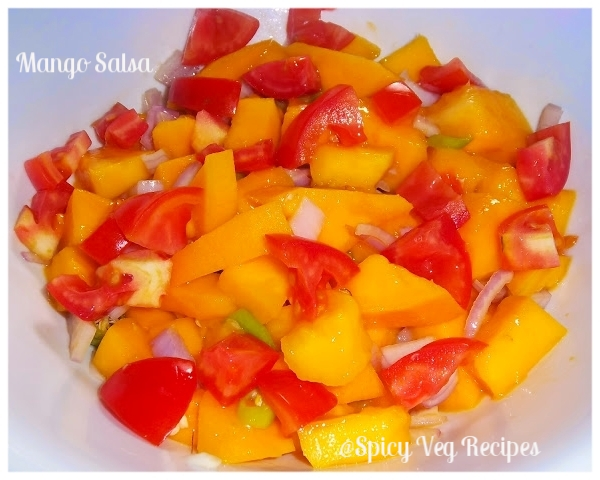 Mango Salsa Recipe, How to make Mango Salsa Recipe,Mango Salsa Recipe, How to make Mango Salsa Recipe,Mango, Mango Recipe, salsa Recipe,Fusion, Mango, salads, Salsa, Summer Recipes,fusion, salad n salsa, Soups n Salads, Mango recipes,