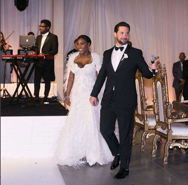 Beautiful Photos From Serena Williams' And Alexis Ohanian's Fairytale Wedding