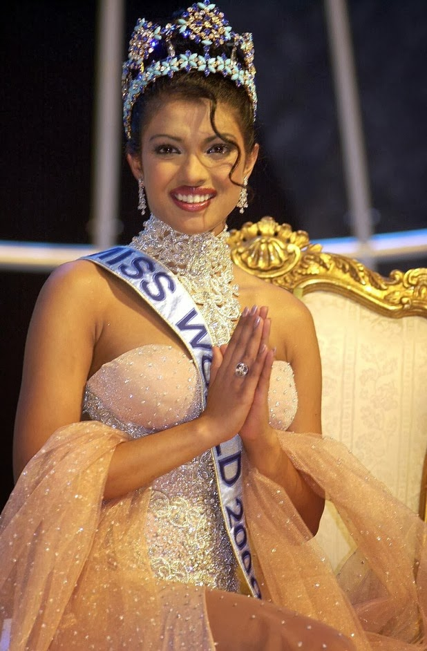 Priyanka Chopra, Miss India World 2000