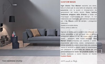 Divani blog tino mariani for Made divani
