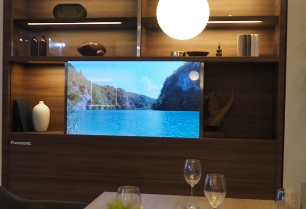 Panasonic raises the bar with Invisible TV