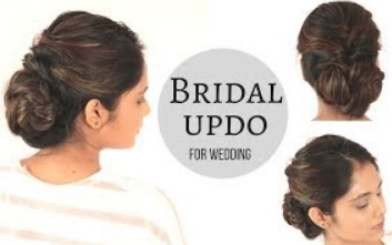 Bridal Hairstyle For Wedding | Low Braid Bun Hairstyle| komal's hairstyle
