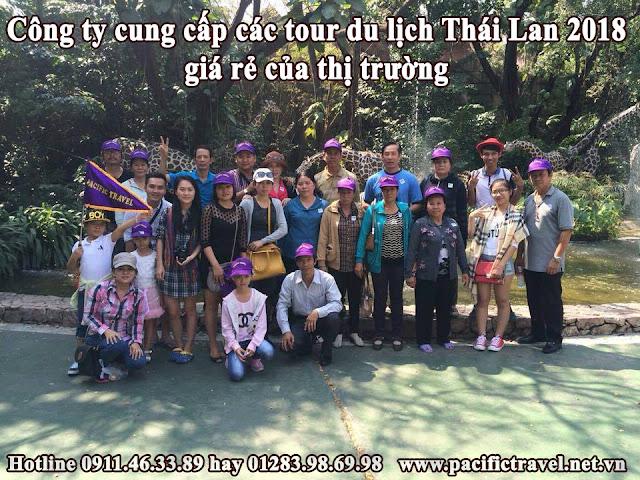 Công ty cung cấp các tour du lịch Thái Lan 2018 giá rẻ của thị trường