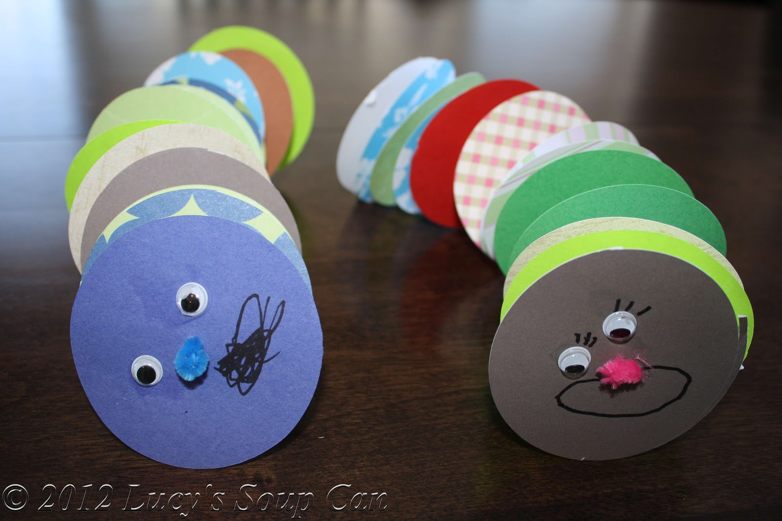 Lucy's Soup Can: 5 easy spring-time kids crafts