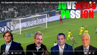 Juventus Dinamo Zagabria compilation telecronisti tifosi Champions league video