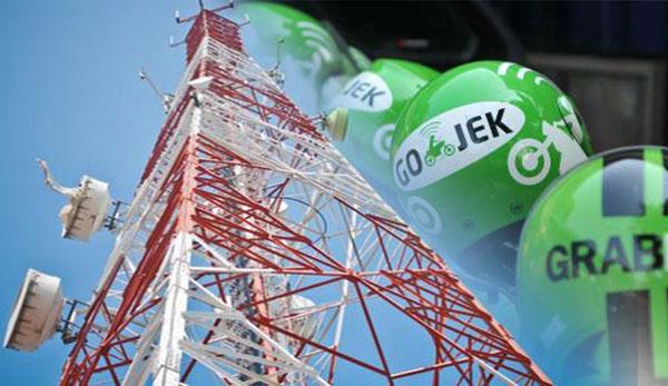 Jaringan Internet Telkomsel Lenyap, Banyak Pengemudi Ojol Kehilangan Rezeki