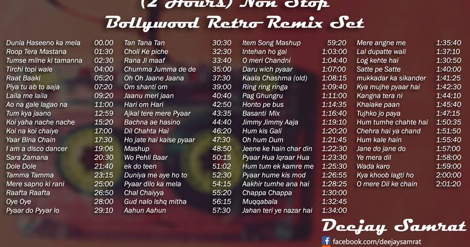 Beaches] Old hindi songs dj remix non stop download