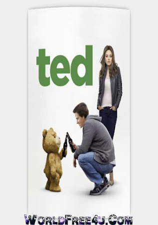 Poster Of Ted In Dual Audio Hindi English 300MB Compressed Small Size Pc Movie Free Download Only At worldfree4u.com