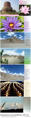 Karuna-Kalender  von Dörte Kamarid für die Rangjung Public School in Ladakh