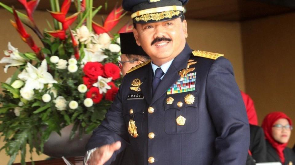 Berapa Jumlah Kekayaan Panglima TNI Marsekal TNI Hadi Tjahjanto?
