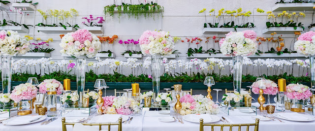 flowery decor