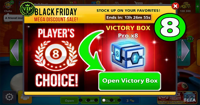 Victory Box Pro ×8 New 8 ball pool