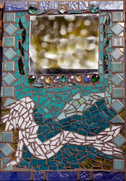 Beginners Mosaic Mirror Project