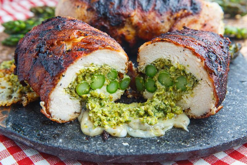 recipe: asparagus stuffed chicken breast tasty [37]