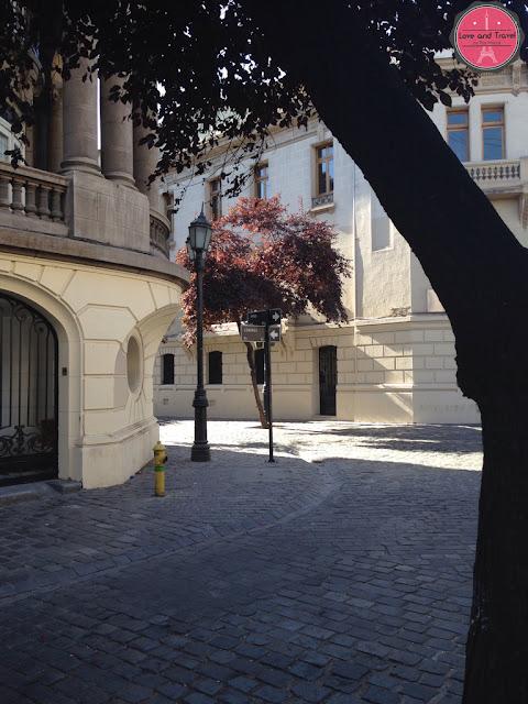 Bairro Paris Londres em Santiago