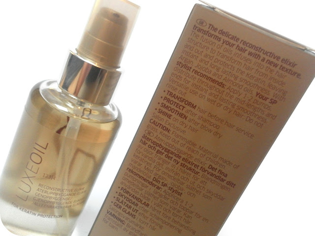 SP Wella Luxe Oil